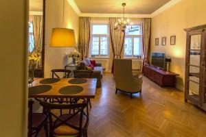 Pronájem bytu 3+1, 198 m2 Praha 2 - Vinohrady Ibsenova