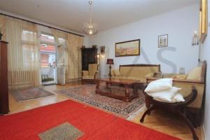Pronájem zařízeného bytu 3+kk, 97m2, Praha 3 - Vinohrady, ulice Slezská