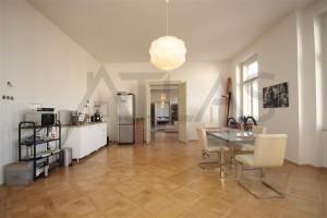 kuchyň 40 m2 - Pronájem bytu 4+kk, 200 m2, Praha 2 -Vinohrady, Čelakovského sady