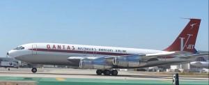 americký herec John Travolta a jeho letadlo