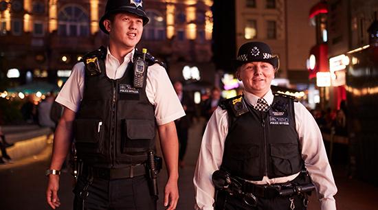 londýnská Metropolitní policie-550x306