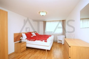 Dlouhodobý/krátkodobý pronájem plně zařízeného bytu 3+kk, 105m2, Praha 2- Vinohrady