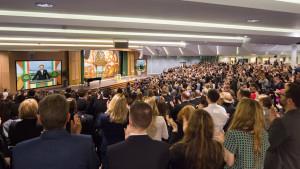 Budova komunitního centra a Scientologické církve Dublin, Irsko – společenský sál pro 1000 osob