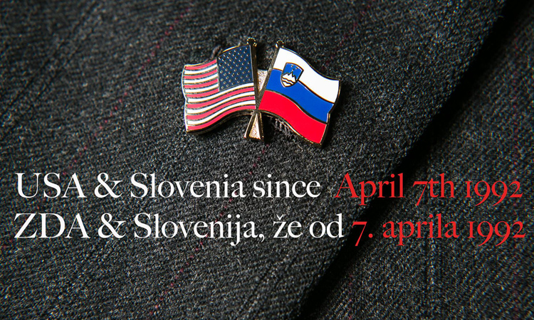 Historie vztahů Spojených států Amerických a Slovinska