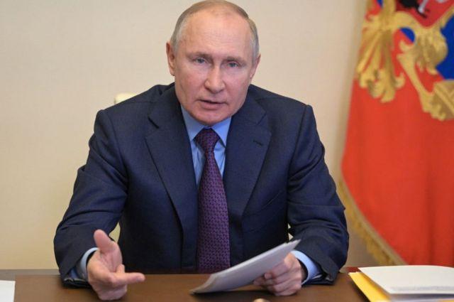 Prezident Vladimir Putin