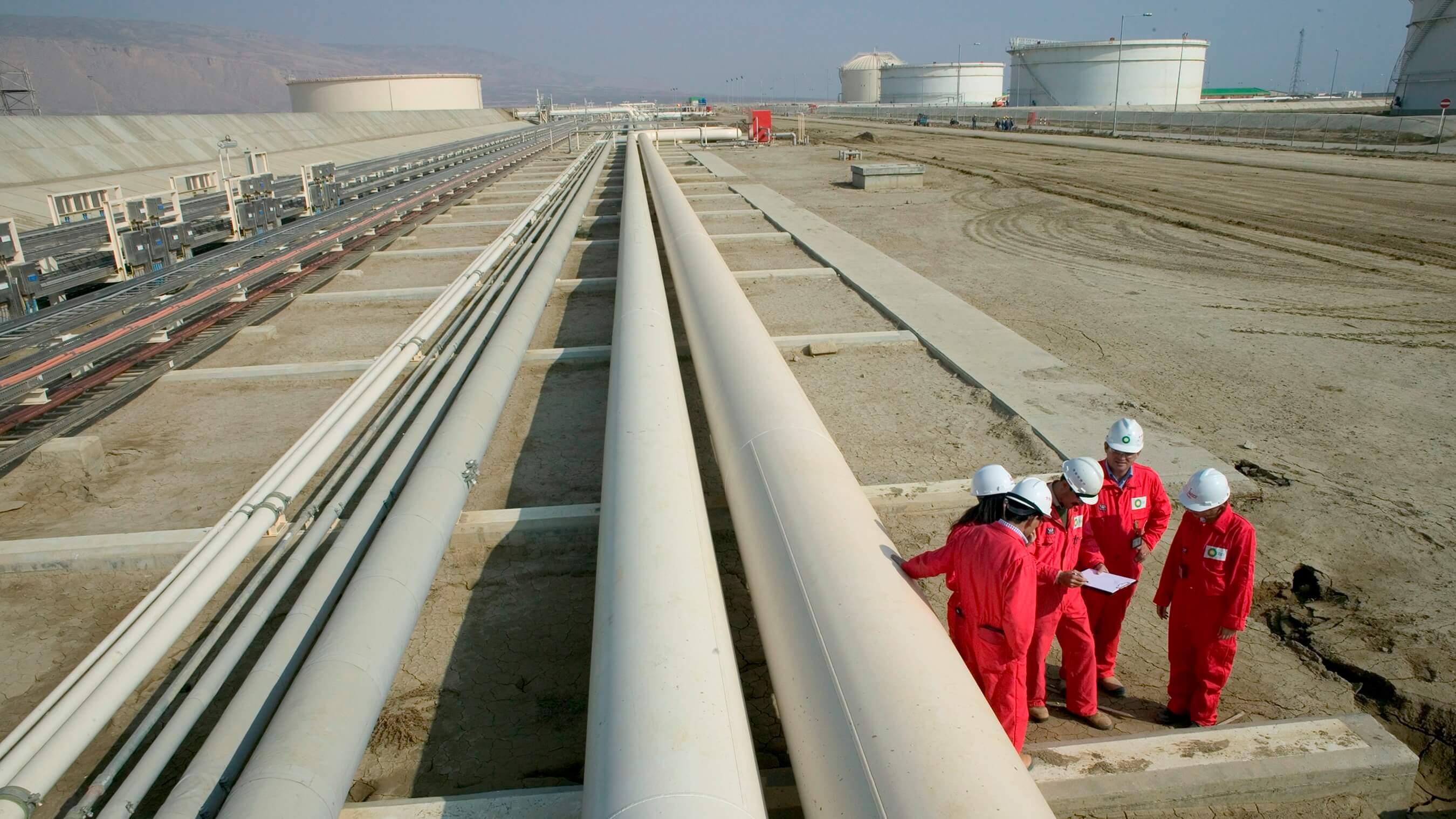 rafinace ropy, petrochemického průmyslu a ropného inženýrství v  Ázerbájdžánu