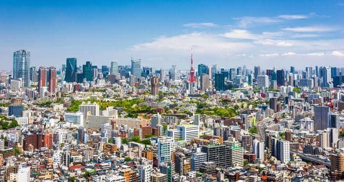 Tokio) je hlavním městem Japonska