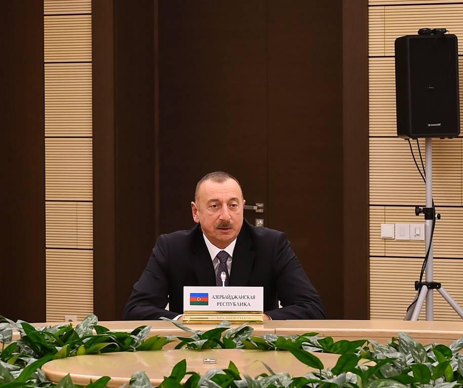 prezident Ázerbajdžánu Ilham Alijev