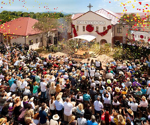 Slavnostní otevření Scientologické církve Pretoria