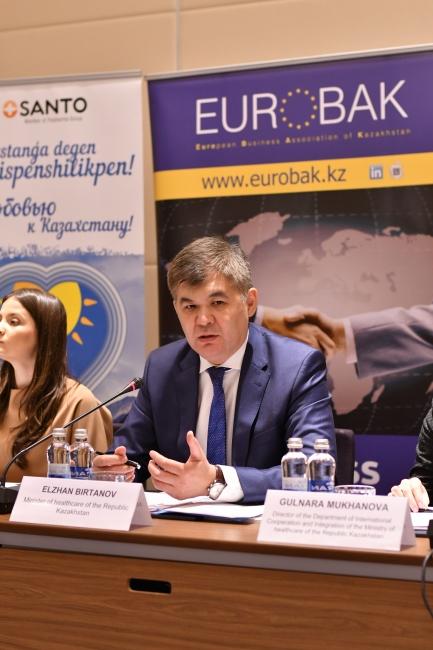 Setkání EUROBAK s ministrem zdravotnictví