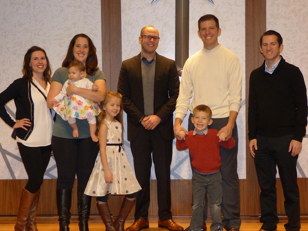 Ceremoniál křtin v Scientologické církvi v Portlandu
