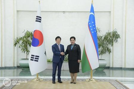 Uzbekistán, Jižní Korea mají v úmyslu posílit meziparlamentní vazby