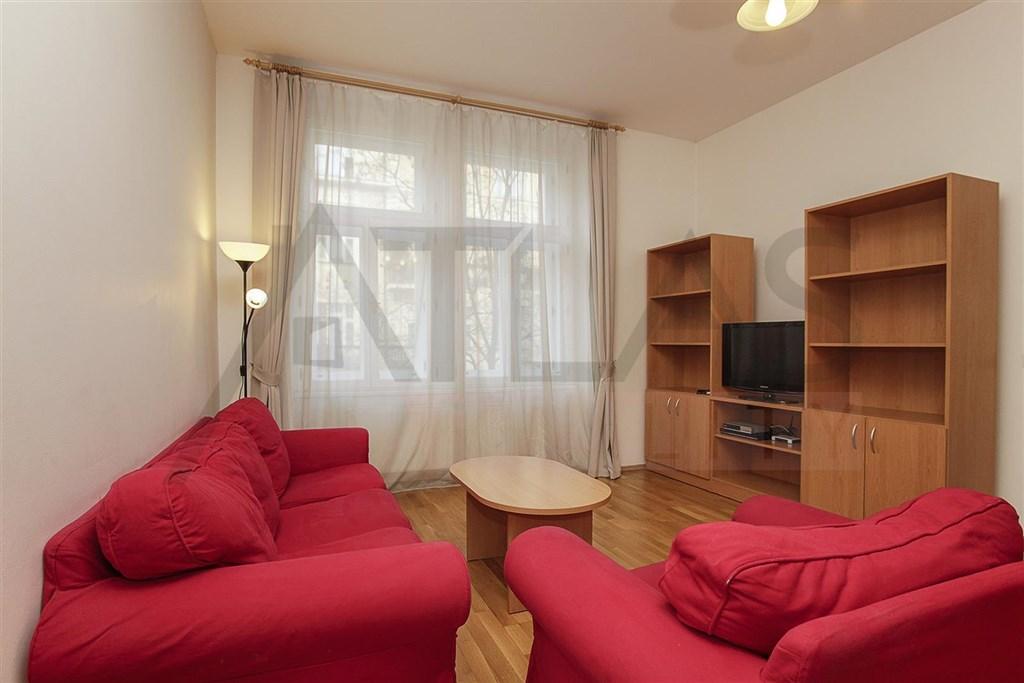 Pronájem mezonetového bytu 2+kk 110m2 Praha 2 Vinohrady, Chodská