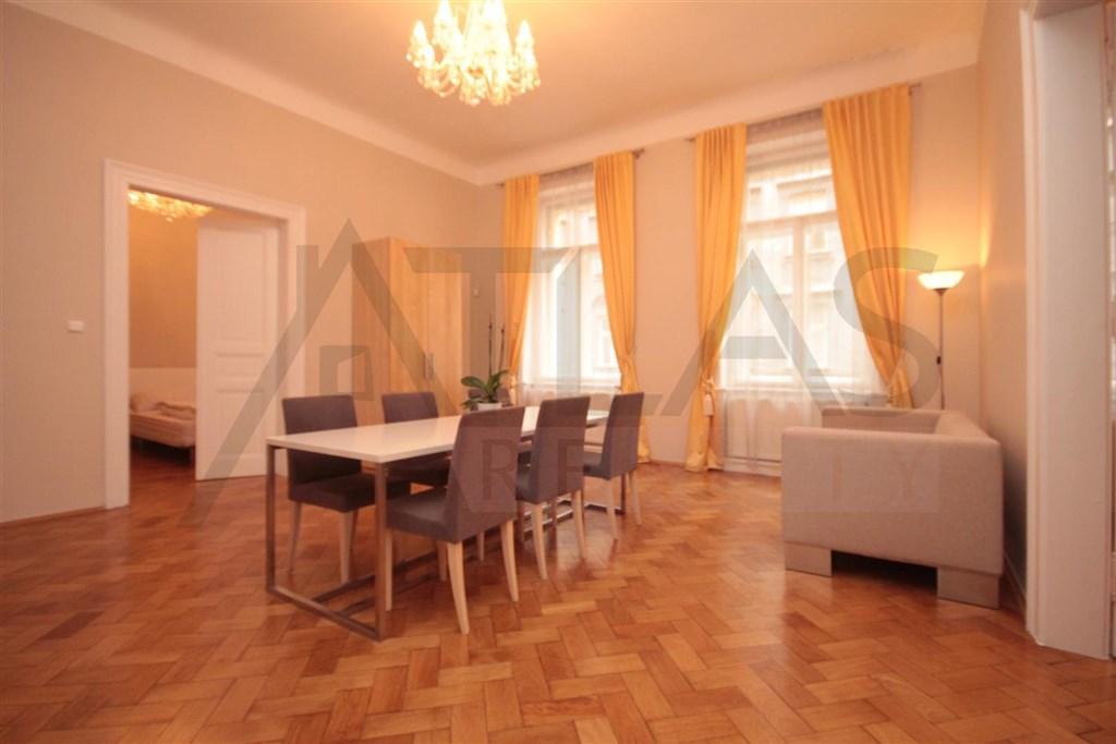 Pronájem bytu 2+kk Praha 2 Vinohrady, Chodská