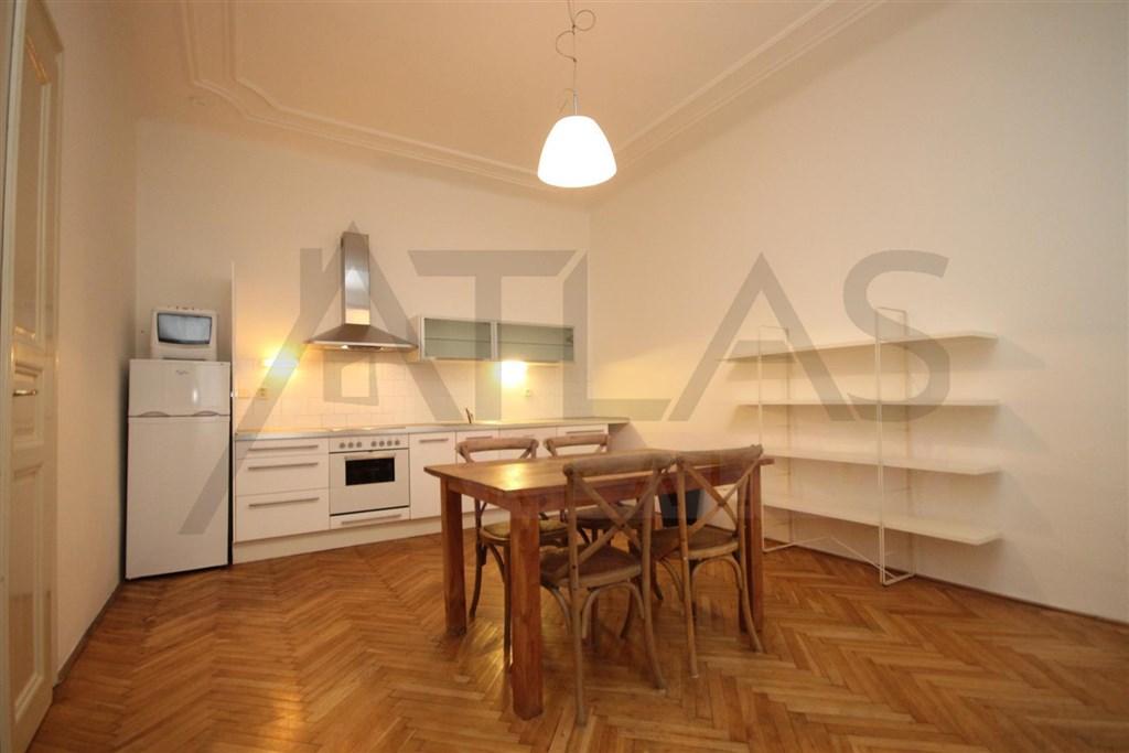 Pronájem bytu 2+kk Praha 2 Vinohrady, Moravská