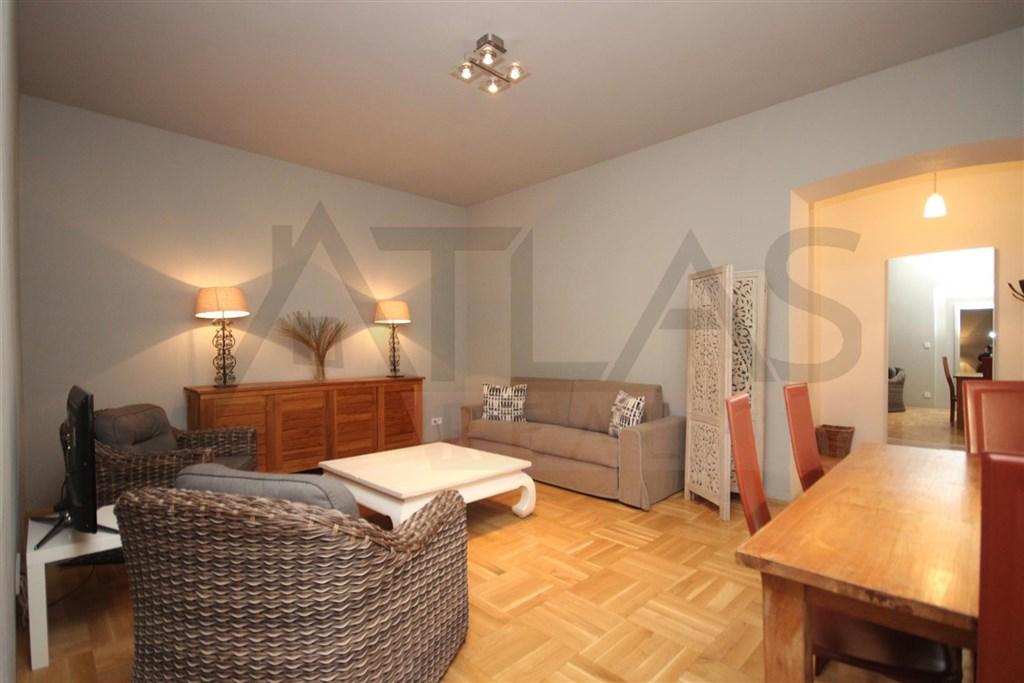 Pronájem bytu 3+kk, 80 m2 Praha 2 Vinohrady, Lužická