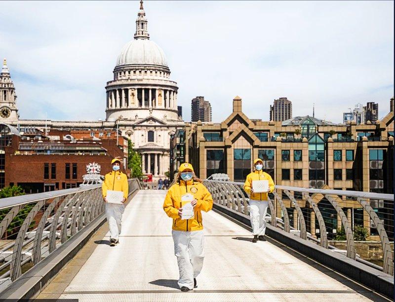 Dobrovolní duchovní ze všech scientologických církví a misí se zúčastnili kampaně.