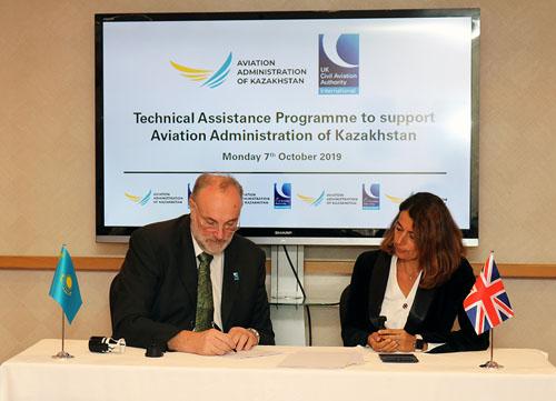 CAAI PODPORUJE ROZVOJ KAZACHSTÁNSKÉHO ODVĚTVÍ LETECKÉ DOPRAVY