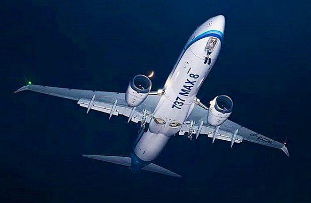 SCAT - Kazachstán dokončí v únoru posouzení letové způsobilosti Boeingu 737 MAX