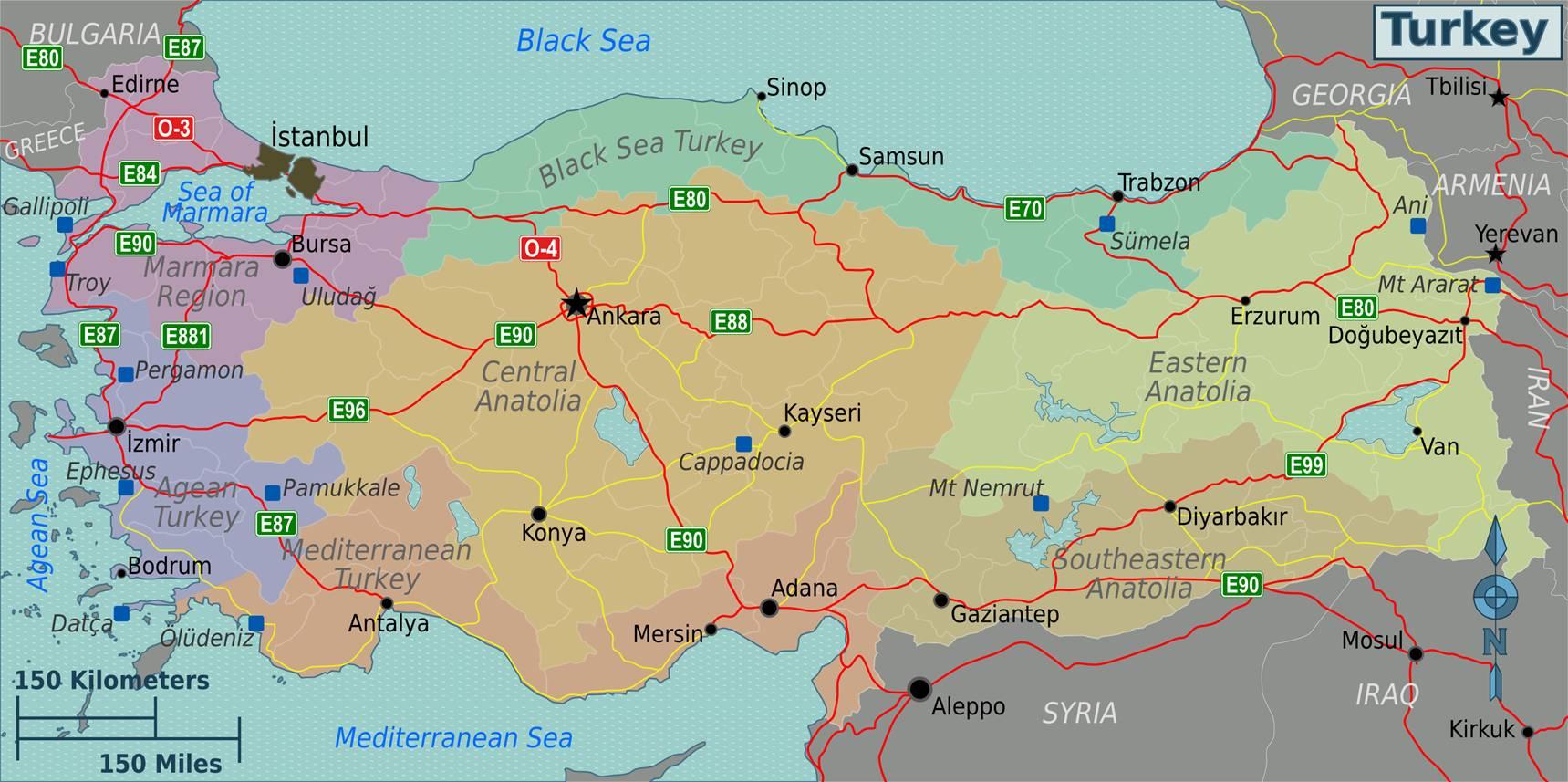 Regiony Turecka