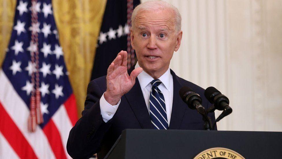 americký president Joe Biden